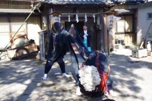 「大神宮の舞」(村松町の御頭神事)