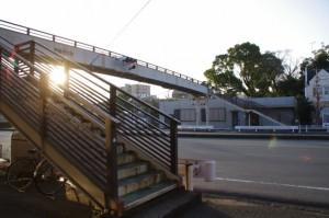 宮町交差点付近の歩道橋(伊勢市宮町)