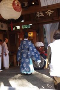 祭典(今社の御頭神事)