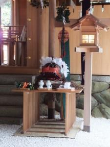 田丸神社の獅子頭(玉城町)