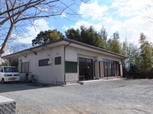 羽根区公民館(田丸神社、獅子頭の田辺地区巡幸)