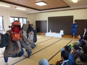 西世古公民館(田丸神社、獅子頭の田辺地区巡幸)