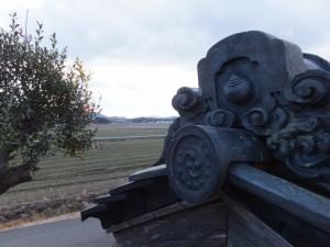 西世古公民館付近(田丸神社、獅子頭の田辺地区巡幸)
