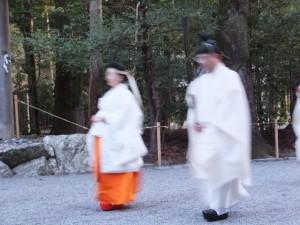 祈年祭 奉幣の儀(外宮)