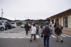 「宮川流域案内人とともに 川添神社の奇祭・五身懸祭を見よう!!」の出発