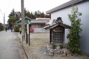 川添神社付近の庚申さん(大台町)