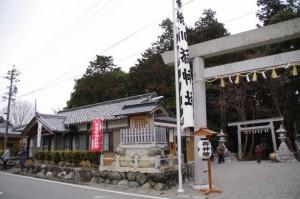 五身懸祭当日の川添神社(大台町)