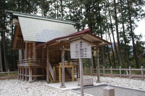 川添神社の祖霊神社(大台町)