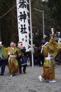 五身懸祭 - 参進(川添神社)
