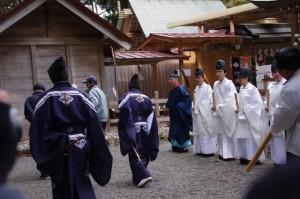 五身懸祭 - 修祓(川添神社)