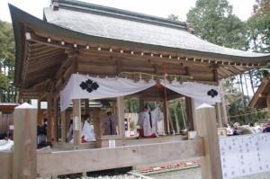 五身懸祭 - 舞楽奉納(川添神社)