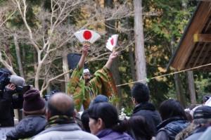 五身懸祭 - 万歳楽神事(川添神社)