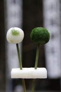 五身懸祭 - 授与された団子(川添神社)