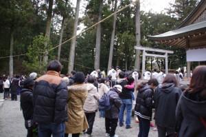 五身懸祭 - 苗松(川添神社)