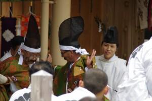 五身懸祭 - 玉串奉奠(川添神社)