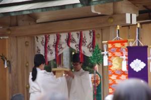五身懸祭 - 撤饌(川添神社)