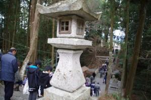 五身懸祭 - 終了後(川添神社)