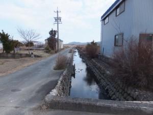通町公民館前から中堤へ(伊勢市通町)
