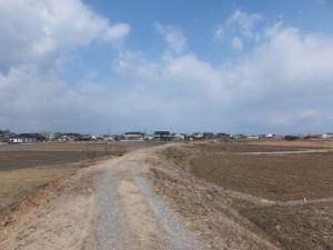 中堤(伊勢市一色町と通町の境界)