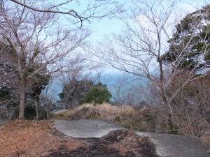 二見浦ロープウェイ跡(音無山)