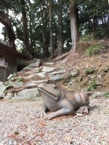 音無山園地への登り口(太江寺)