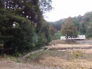 江神社付近を通過するJR参宮線