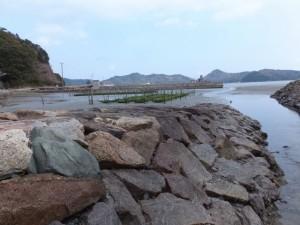 深浦橋付近からの風景(二見町松下)