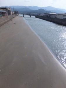砂浜のような江川(五十鈴川)