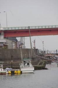 一色大橋(神社港側)の遠望