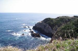 崎山公園からの風景(志摩市大王町)