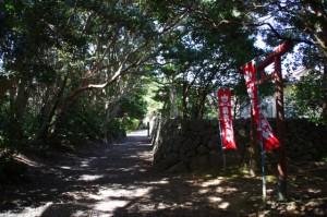 稲荷大明神(波切神社横)