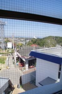 螺旋階段からの風景(大王埼灯台)