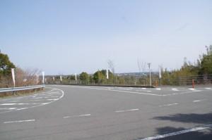 横山ビジターセンター付近の丁字路(志摩市阿児町)