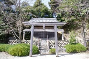 八王子神社(坂本棚田)