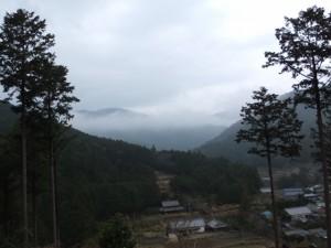 宮山山頂展望台からの眺望(伊勢市横輪町)