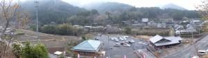 宮山の見はらし場からのパノラマ(伊勢市横輪町)