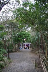 鍬形祭終了後(九鬼岩倉神社)