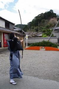 弓祭り(伊勢市二見町松下)