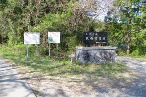 新池とヒジヤ池の間の分岐(度会郡玉城町原)