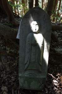 二丁地蔵丁石(旧国束寺跡~國束寺)