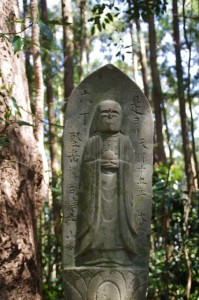 六丁地蔵丁石ほか(旧国束寺跡~國束寺)