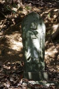 七丁地蔵丁石(旧国束寺跡~國束寺)