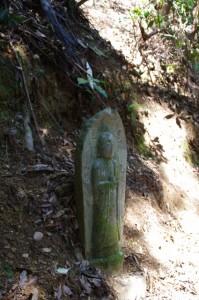 九丁地蔵丁石(旧国束寺跡~國束寺)