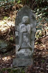 十三丁地蔵丁石(旧国束寺跡~國束寺)
