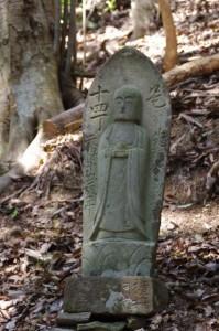 十四丁地蔵丁石(旧国束寺跡~國束寺)