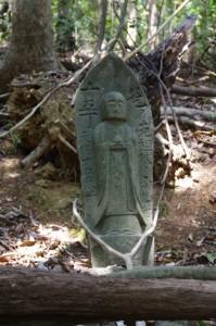 十五丁地蔵丁石(旧国束寺跡~國束寺)