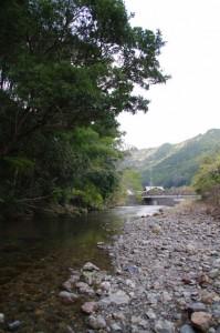 横輪川(伊勢市横輪町)