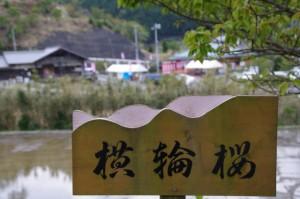 桂林寺付近から望む郷の恵・風輪(伊勢市横輪町)