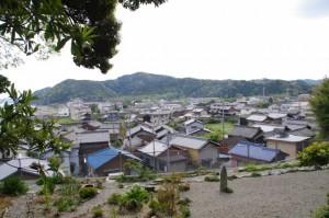 増徳庵跡からの風景(伊勢市二見町江)