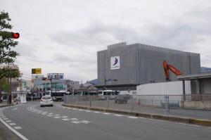 (仮称)伊勢敬KPGホテル新築工事と解体されたJOY CITY(伊勢市駅前)